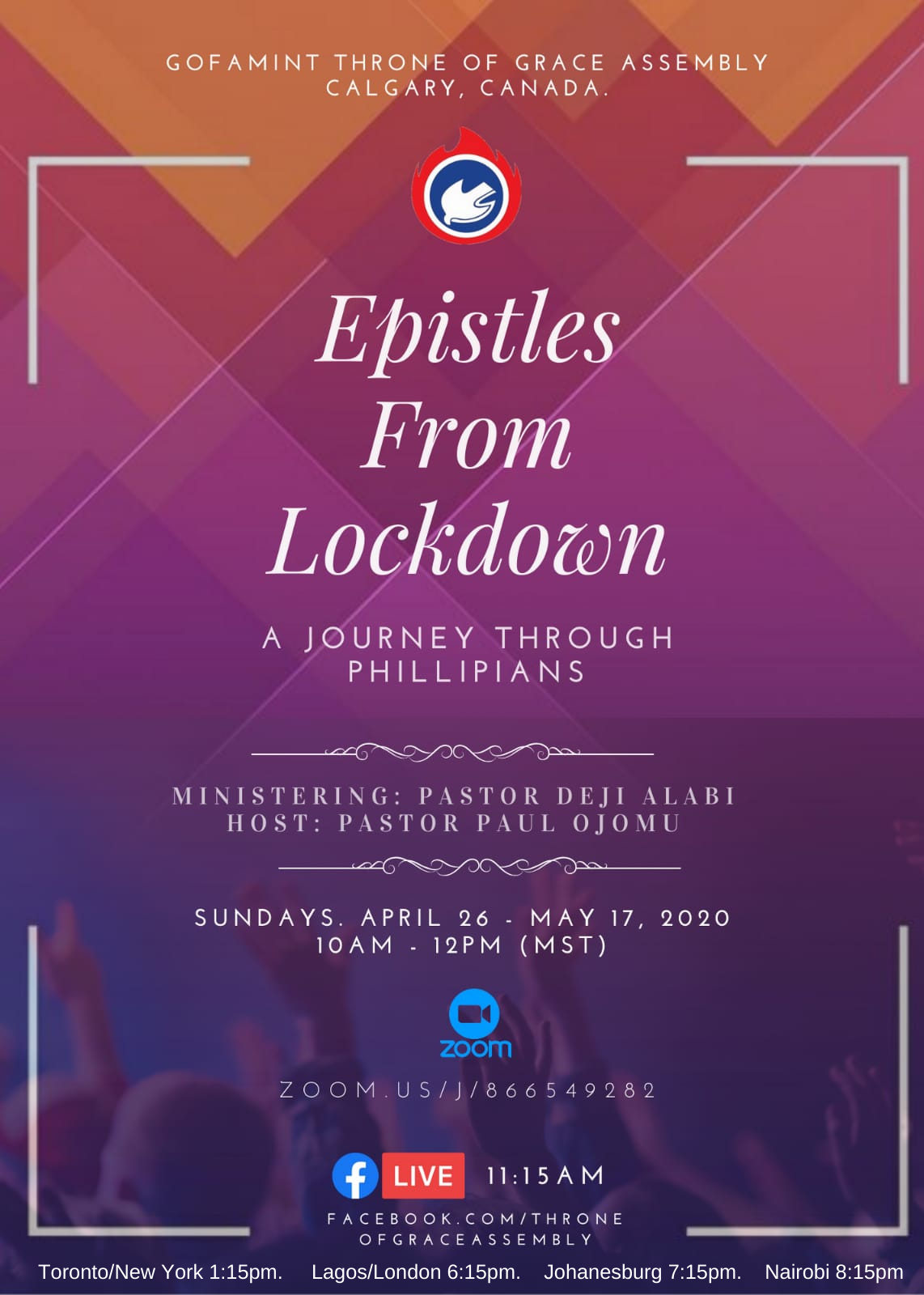 Epistles from Lockdown: Philippians (April – May 2020)